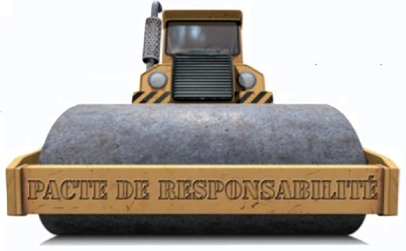 pacte de responsabilité rouleau compresseur