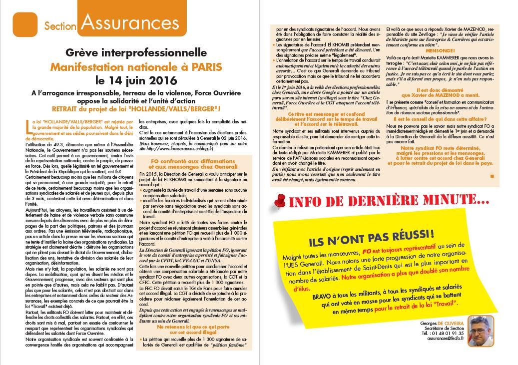JEC FO Assurances JUIN 2016